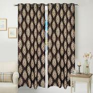 JBG Home Store Set of 2 Beautiful Design Door Curtains-JBG907_1BPD