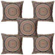 Set of 5 Multicolor Floral Cushion covers - JBG_BKM