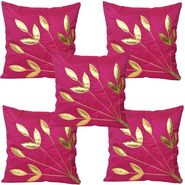 Set of 5 Multicolor Floral Cushion covers - JBG_PTR