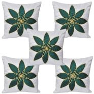 Set of 5 Multicolor Floral Cushion covers - JBG_WGLP