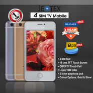 JeoTex 4 SIM TV Mobile