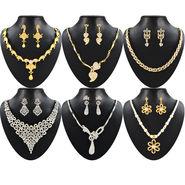 Jessica Dazzling Rhodium Plated Austrian Diamond Jewellery Collection