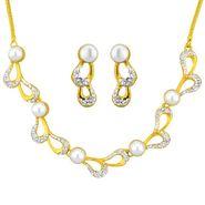 Jpearls Sizzling Pearl Necklace Set - NE4048