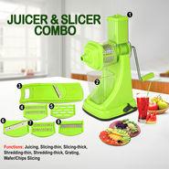 Juicer & Slicer Combo