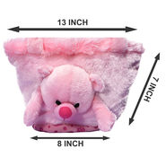 Kids Pink Stuff Bag - Hosiery Chenille 1006