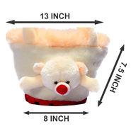 Kids Cream Stuff Bag - Hosiery Chenille 1011