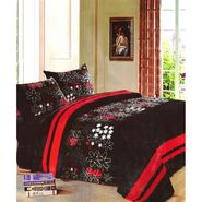 Amore Designer Printed Double Bed Soft Blanket-KDAW10