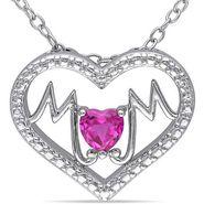 Kiara Swarovski Signity Sterling Silver Neelam Pendant_Kip0519