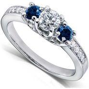 Kiara Swarovski Signity Sterling Silver Nandita Ring_Kir0696 - Silver