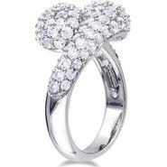 Kiara Swarovski Signity Sterling Silver Sneha Ring_Kir0752 - Silver