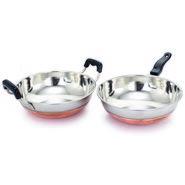 Klassic Vimal Cookware set of Kadai and Fry pan KV102