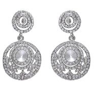 Kriaa Austrian Stone Earrings - White _ 1301232