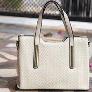 Arisha White Handbag -LB 346