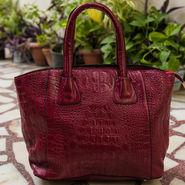 Arisha Maroon Handbag -LB 362