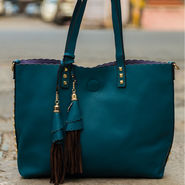 Arisha Dark Green Handbag -LB 387