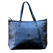 Sai Arisha PU Black Tote Handbags-LB662