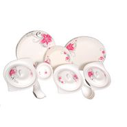 Lifestyle 40 Pcs Melamine Dinner Set - Multicolor LE-PG-005