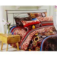 Velvet Double Bedsheet With 2 Pillow Cover-LE-VELV-013