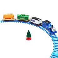 DealBindaas Train 3 Bogies 4 Feets Track