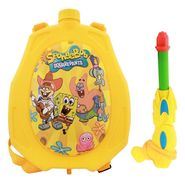 Holi Water Pichkari Back Pack Cartoon Tank Squirter F16 - Yellow