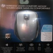 HP Laser Comfort USB Receiver Laser Mouse - Gray