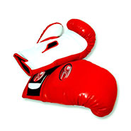 Liana Punching Gloves - Red & White
