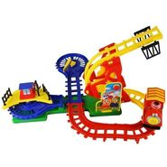 Fun Train Looping Flip Track Action Funny Toy Set