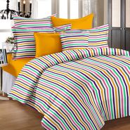 Storyathome 100% Cotton Double Bedsheet With 2 Pillow Cover-MG1098