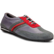 Meriggiare Pu Grey Casual Shoes -Mgfb1001I