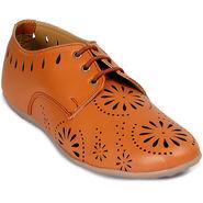 Meriggiare Pu Tan Casual Shoes -Mgfb1032D