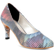 Meriggiare Synthetic Leather Multicolor Peep Toes -Mgfh4014K
