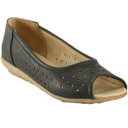 Meriggiare Artificial Leather Black Bellies -Mgfi4508A