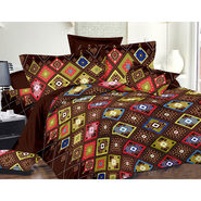 Valtellina Double Bed Sheet with 2 Pillow Cover-MO-100