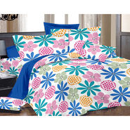 Valtellina Double Bed Sheet with 2 Pillow Cover-MO-275