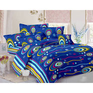 Valtellina Double Bed Sheet with 2 Pillow Cover-MO-340