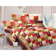 Valtellina Double Bed Sheet with 2 Pillow Cover-MO-345