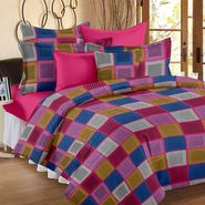 Storyathome 100% Cotton Double Bedsheet With 2 Pillow Cover-MP1220