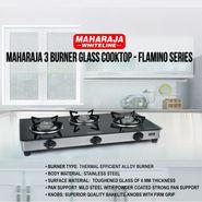 Maharaja 3 Burner Glass Cooktop - Flamino Series