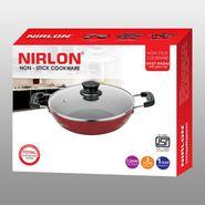 Nirlon Non Stick Deep Kadhai With Lid 2.4 Ltr_NR42423