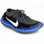 Nike Mesh Sports Shoes Nike Free 3.0 Grey & Royal Blue
