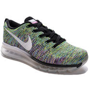 Nike Mesh Flyknit Max Green Sports Shoes -os02