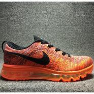 Nike Mesh Flyknit Max Orange Sports Shoes -os01