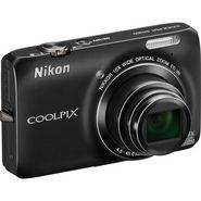 Nikon Coolpix S6300 Digital Camera - Black