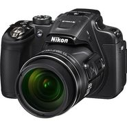 Nikon Coolpix P610 16MP Point Shoot Digital Camera with 60x Optical Zoom - Black