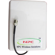 NPC Patch Panel Outdoor Antenna For GSM 900 Booster - White