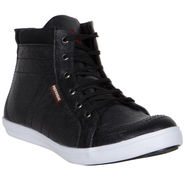Provogue Black Sneaker Shoes -yp19