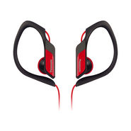 Panasonic RP-HS34E-R In-Ear Headphones - Red
