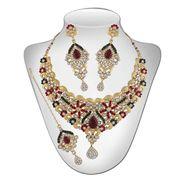 Panini Traditional Necklace Set - Multicolour _ 2697