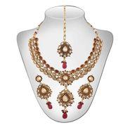 Panini Traditional Necklace Set - Multicolour _ 147