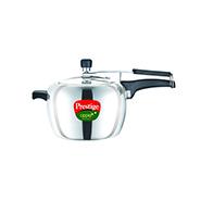 Prestige Apple Aluminium Pressure Cooker - 5 Ltr (Induction Based)